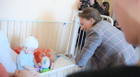Ваня Фокин из Магнитогорска активно идет на поправку