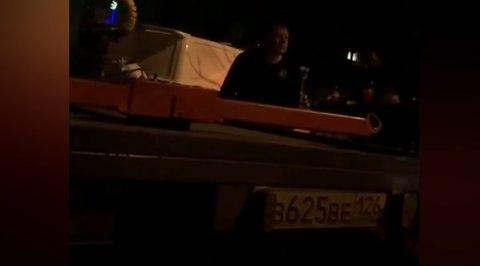 Пьяные похождения Александра Емельяненко по Кисловодску сняли на видео