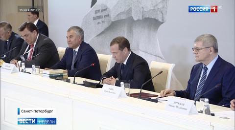 Медведев рассказал, каким будет празднование 350-летия со дня рождения Петра I