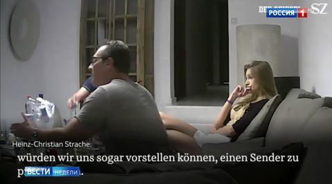 Скандальное видео со Штрахе и блондинкой: явно работали спецслужбы