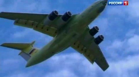 Новый Ил-476 поднялся в воздух