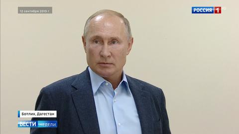 Путин: террористы умеют только убивать