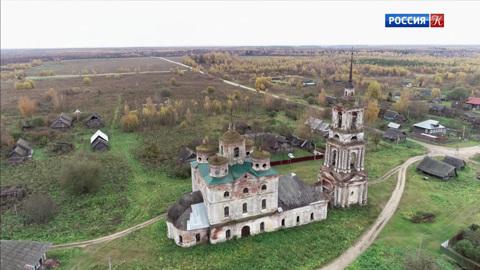 Русская Атлантида. Село Еськи. Богоявленский собор