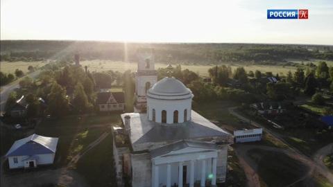 Русская Атлантида. Село Козлово. Введенский храм