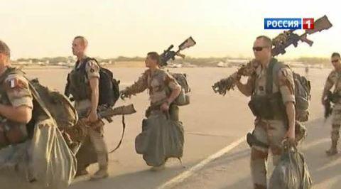 Французские войска пришли на помощь армии Мали