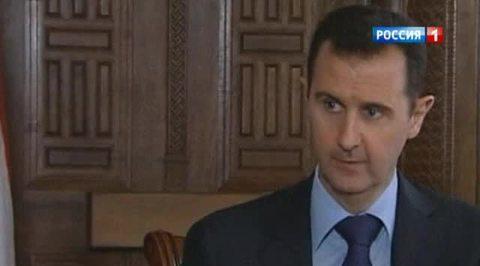 Башар Асад: я не покину Сирию