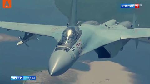 Как Россия ловит натовские самолеты