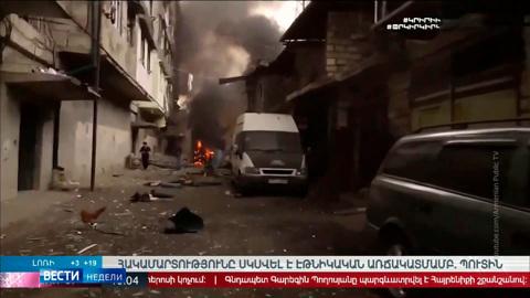 Армения хочет ввести миротворцев в Нагорный Карабах