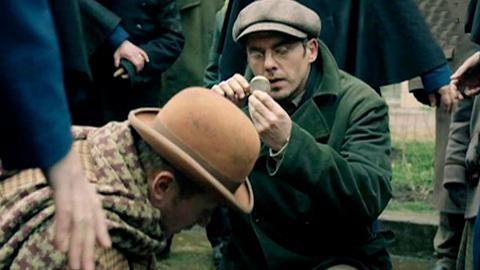 """Шерлок Холмс. Холмс и Ватсон: новый сериал про старых героев (репортаж """"Вестей"""")"""