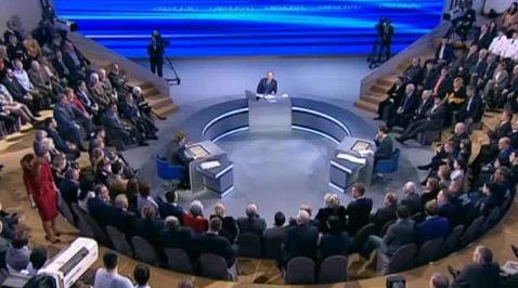 Прямая линия с Владимиром Путиным. 2013. Президент ответил, зачем нужен полис ОМС