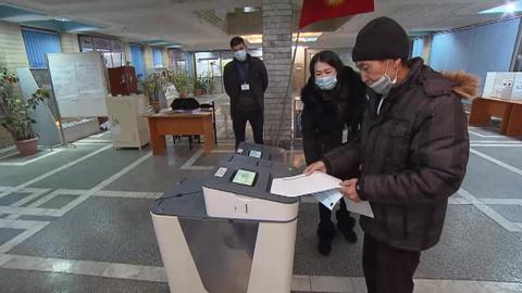 В Киргизии начался референдум о внесении изменений в конституцию