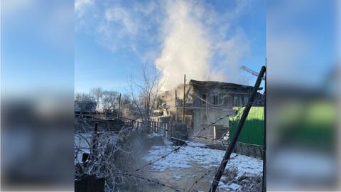 ЧП. На пожаре в Благовещенске один человек погиб и трое пострадали