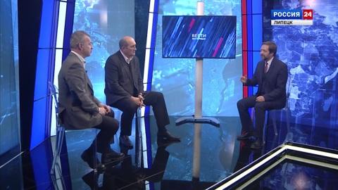 Вести - Интервью : Юрий Таран и Владимир Дементьев