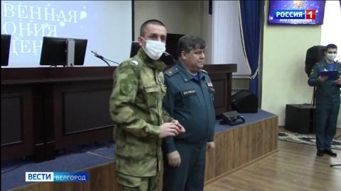 Более 200 росгвардейцев обеспечивали безопасность белгородцев в Крещенский сочельник