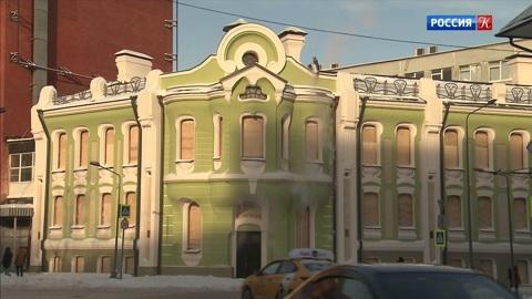 Здание знаменитой Бабаевской шоколадной фабрики после реставрации сменило цвет