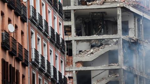 ЧП. Жертвами мощного взрыва в Мадриде стали не менее трех человек