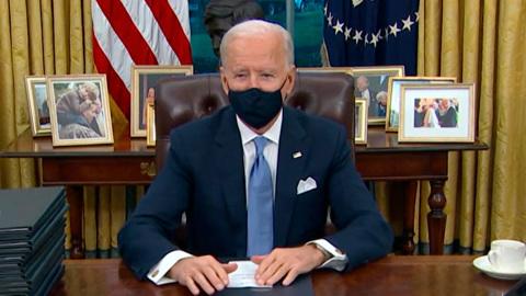 5-я студия. Новый президент США: Байден отменил несколько указов Трампа