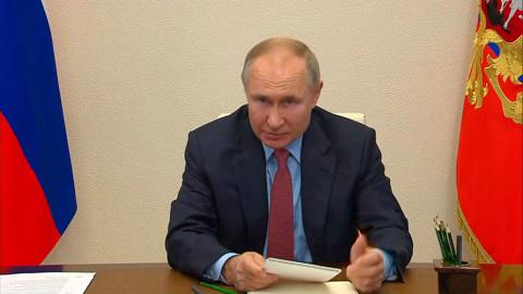 """Новости на """"России 24"""". Владимир Путин: ряд макропоказателей вернулся к докризисному уровню"""