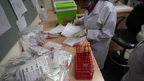 """Новости на """"России 24"""". В ЮАР обнаружен устойчивый к антителам штамм коронавируса"""