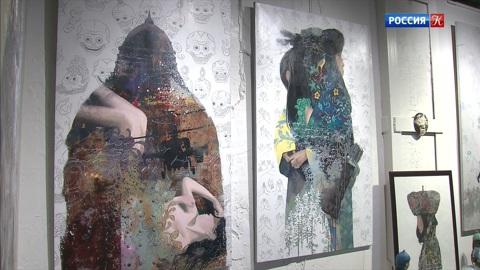 Работы бурятского художника Зорикто Доржиева выставлены в Artplay