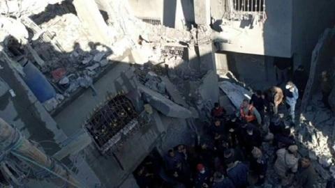 ЧП. В секторе Газа прогремел мощный взрыв, сообщается о десятках пострадавших