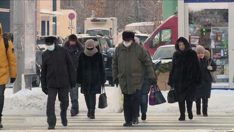 Вести. Мощная волна холода обрушилась на Алтайский край