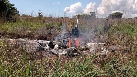 ЧП. Самолет с футболистами разбился в Бразилии