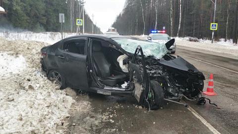 Вести-Москва. Три человека погибли в аварии на востоке Подмосковья