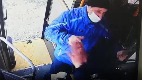 ЧП. Камчатский автопарк разыскивает пассажира, избившего водителя из-за маски
