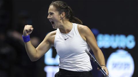 Касаткина вышла в четвертьфинал турнира в Сан-Хосе