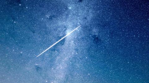 Максимум активности звездопада Аквариды придется на 5-7 мая