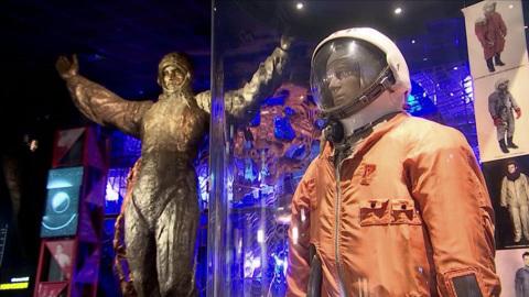 В музее космонавтики – большая выставка о Юрии Гагарине