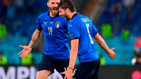 """Евро-2020. Италия – Швейцария – 3:0. Матч группы """"А"""""""