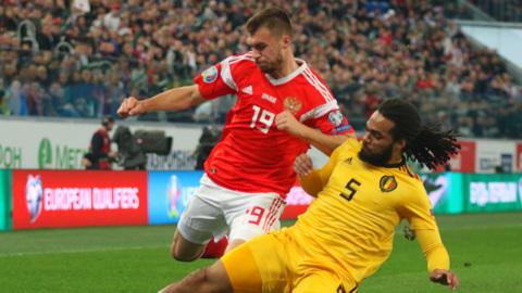 """Евро-2020. Бельгия – Россия – 3:0. Матч группы """"В"""""""