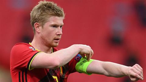 Де Брюйне остался в запасе Бельгии на игру с Данией