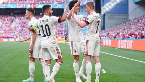 Бельгия одержала волевую победу над Данией и вышла в плей-офф Евро-2020