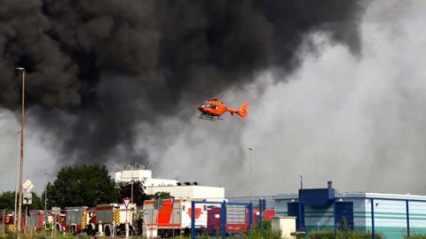 Число жертв взрыва на немецком химзаводе возросло до двух