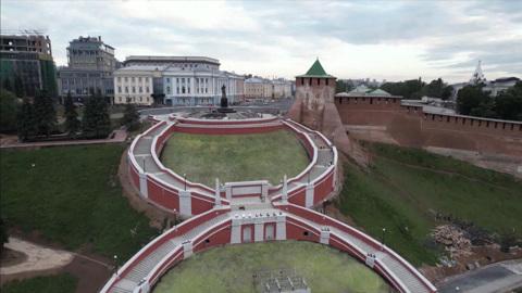 Чкаловскую лестницу в Нижнем Новгороде открыли после реставрации