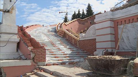 К 800-летию Нижнего Новгорода торжественно открыли Чкаловскую лестницу