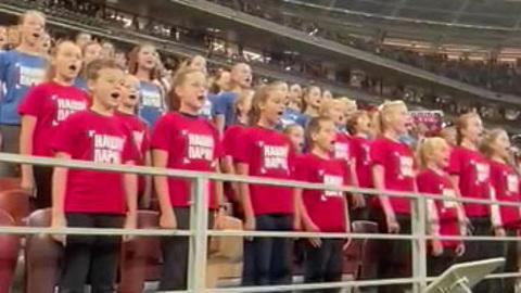 Футбол. Россия – Хорватия. Исполняем гимн на матче!