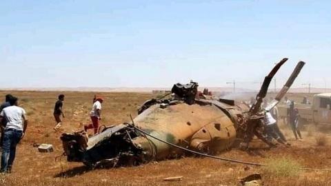 Два вертолета Ми-8 столкнулись на севере Ливии