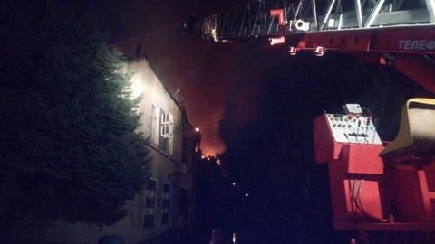 Пожар в Волгодонске: эвакуированы 20 человек
