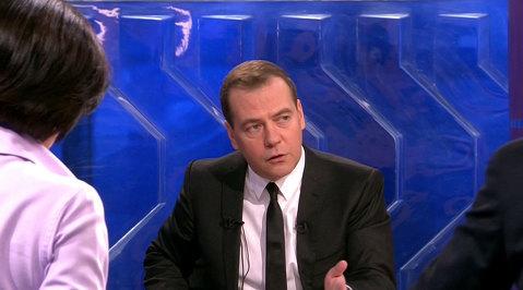 Разговор с Дмитрием Медведевым. Эфир от 06.12.2013
