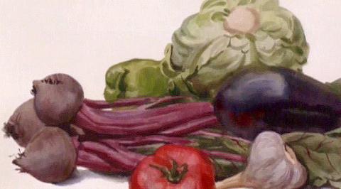 """Уроки рисования с Сергеем Андриякой. """"Овощи"""""""