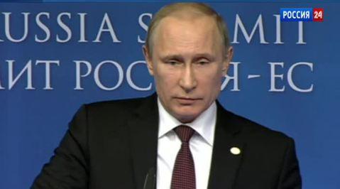 Путин призвал ЕС оставаться цивилизованным в политической борьбе