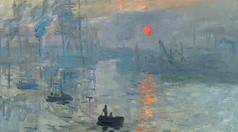 "Мост над бездной. Клод Моне. ""Впечатление. Восход солнца"""
