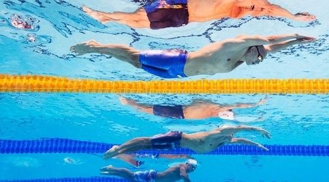 Чемпионат мира по водным видам спорта. Кубок мира FINA. Финалы. День 2