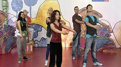 Танцы под Фа-Соль. Гибкость
