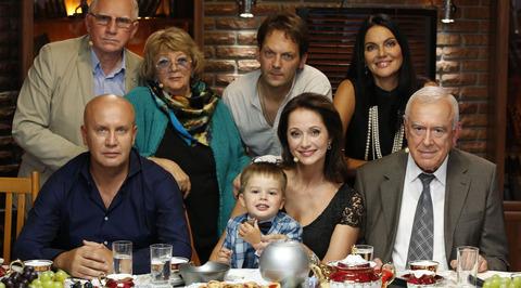 Большая семья. Ольга Кабо