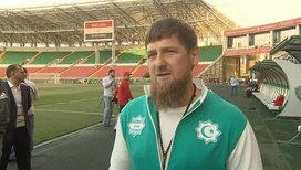 """Египетская сборная уже размялась на """"Ахмат-арене"""""""